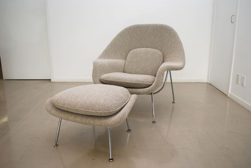 of which are period perfect for these midcentury modern chairs and doesnu0027t compete with the chrome here is another recent womb chair