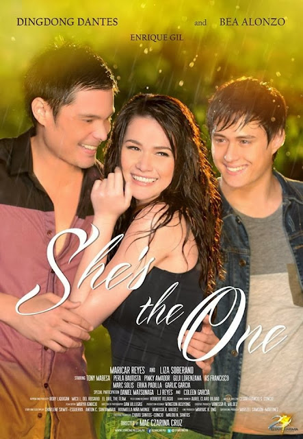 She's The One Movie Poster - Starring Dingdong Dantes, Bea Alonzo and Enrique Gil