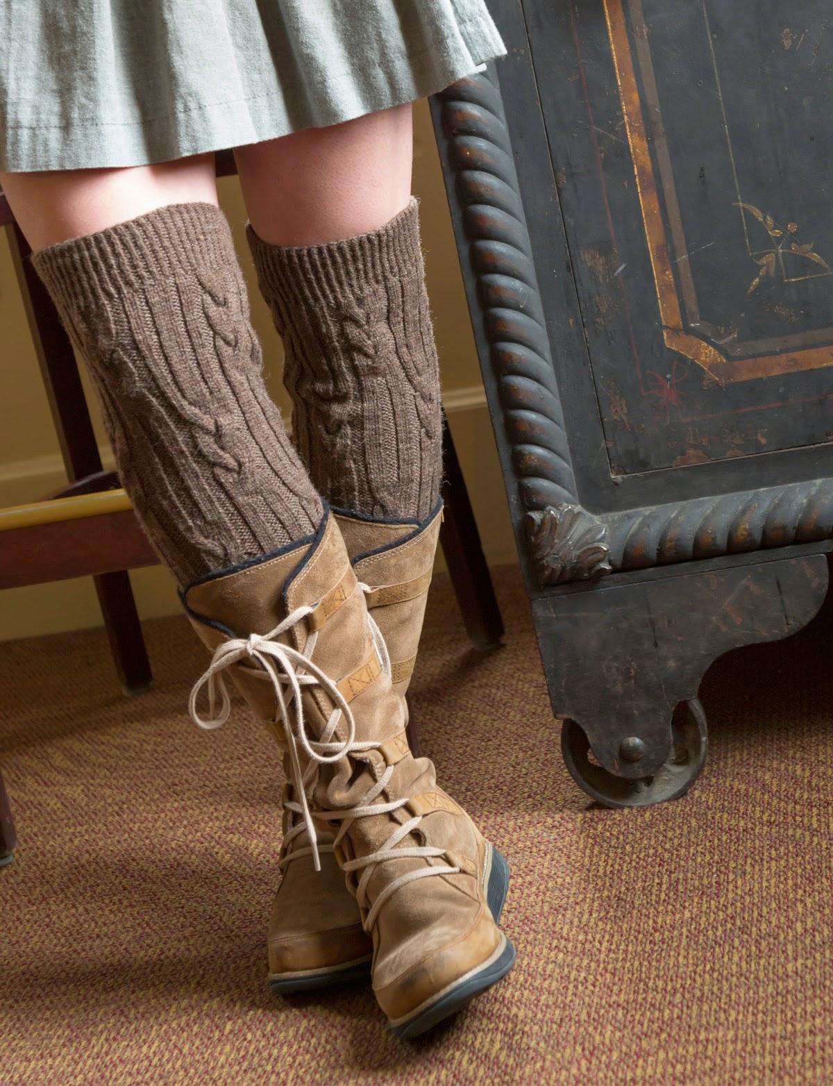 Classic Elite Yarns: Mohawk Wool Socks