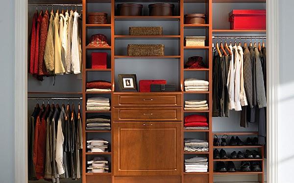 Mantener los armarios bien ordenados