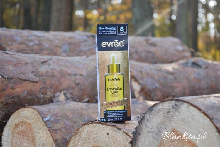 rekonstruktor, evree, olej, olejek, naturalny skład, essential oils, pipetka,