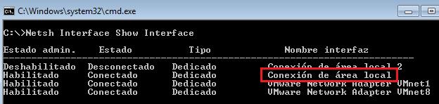 Script para cambiar los DNS de un inferfaz de red con netsh