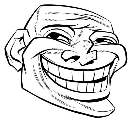 Troll Facebook Facebook Wierd Troll Face Code