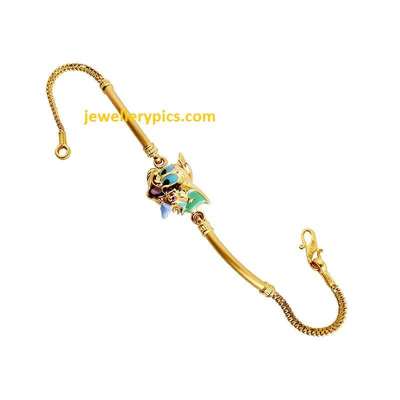grt kids gold bracelet designs latest jewellery designs