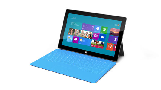 Microsoft's new Surface tablet with Windows RT installed (topicswhatsoever.blogspot.com)