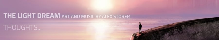 The Light Dream : Alex Storer's art and music