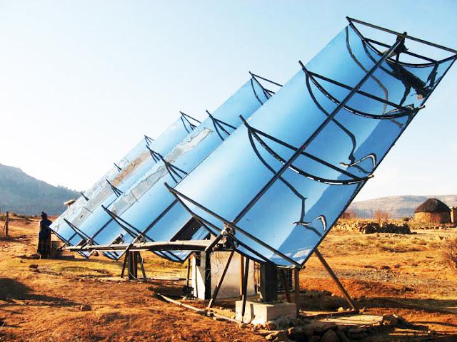 Una clínica en Lesotho, ejemplo de sostenibilidad