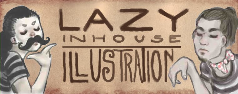 Lazy Inhouse Illustration