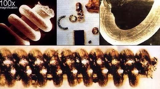 Las antiguas nanoestructuras encontrados en las montes Urales están fuera de lugar y tiempo