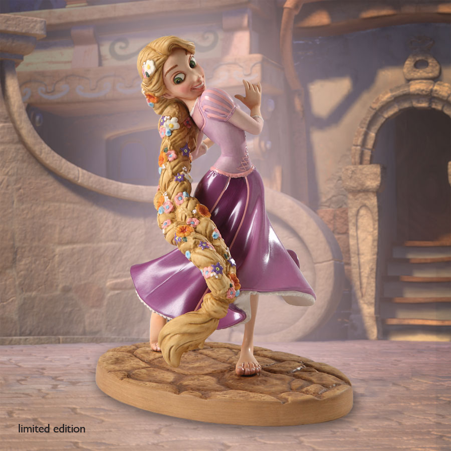 Totally Tangled Wdcc Tangled Braided Beauty Figurine Le750