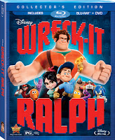 Wreck-It Ralph Blu-Ray DVD