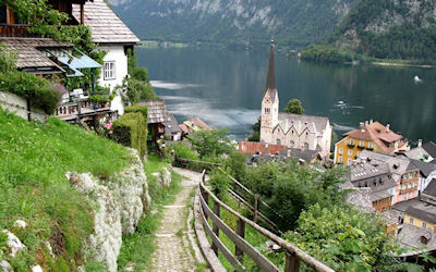 Hallstatt Upper Austria - Paisajes de Europa - Postales