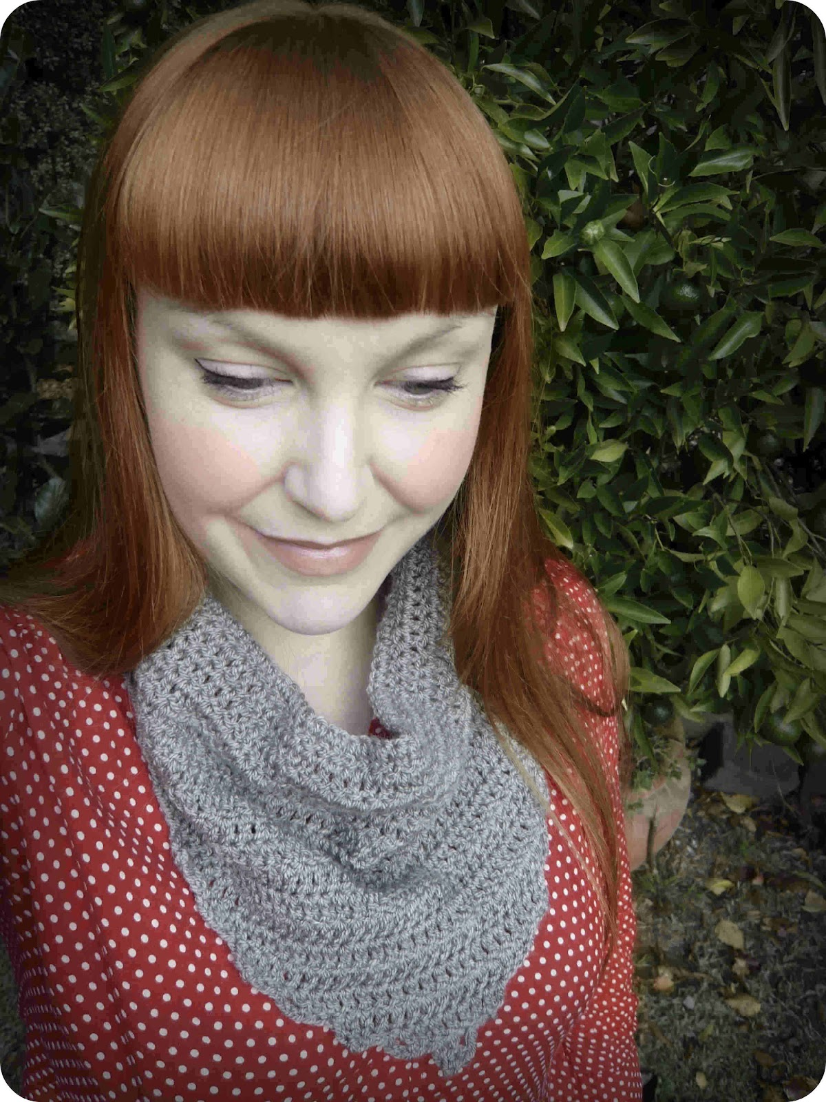 Shara Lambeth Designs: Audra Kerchief Cowl