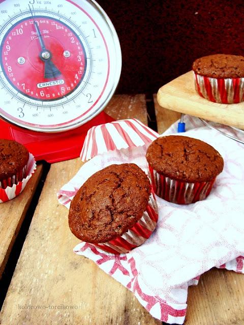 muffiny zdrowe pełnoziarniste