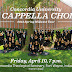 A Cappella to Perform in Concordia Theological Seminary on Friday April 10th