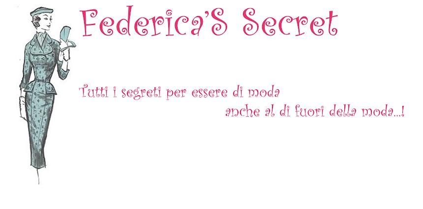 Federica'S Secret...