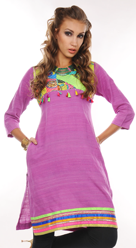 Patchwork Patterns For Kurti 2013 | New Patchwork Designs - Clothing9 ...