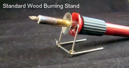 Flimsy Standard Wood Burning Tool Stand