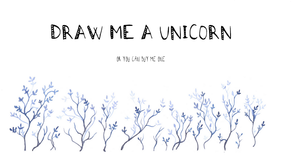 draw me a unicorn