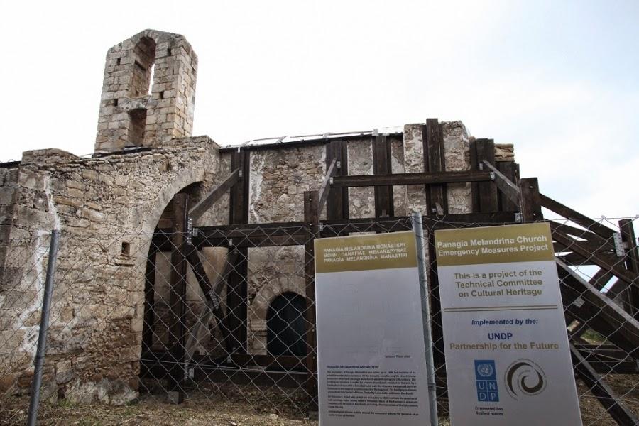 Κύπρος: Σώθηκε από την κατάρρευση η Παναγία Μελανδρύνα