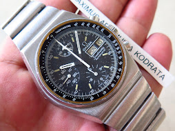 OMEGA SPEEDMASTER RETRO CASE CHRONOGRAPH AND 24 HOURS - AUTOMATIC 1045