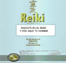 Iniciate en Reiki