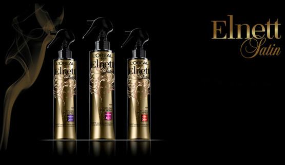 L'Oréal Elnett Satin spray protector del calor para el pelo