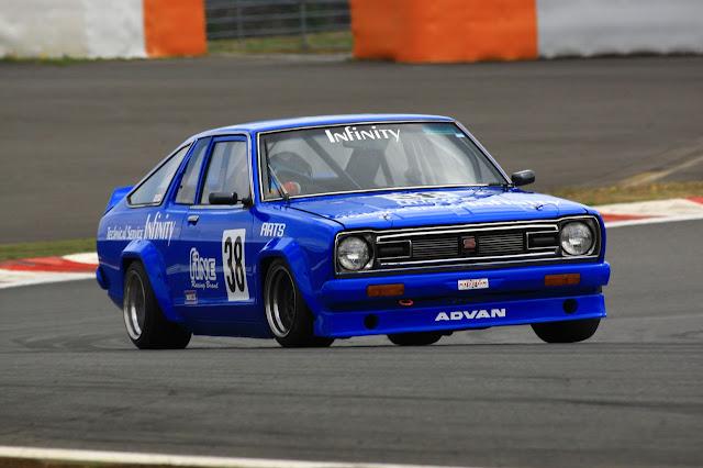 Nissan Sunny B310, wyścigi, JDM, TS Cup, racing