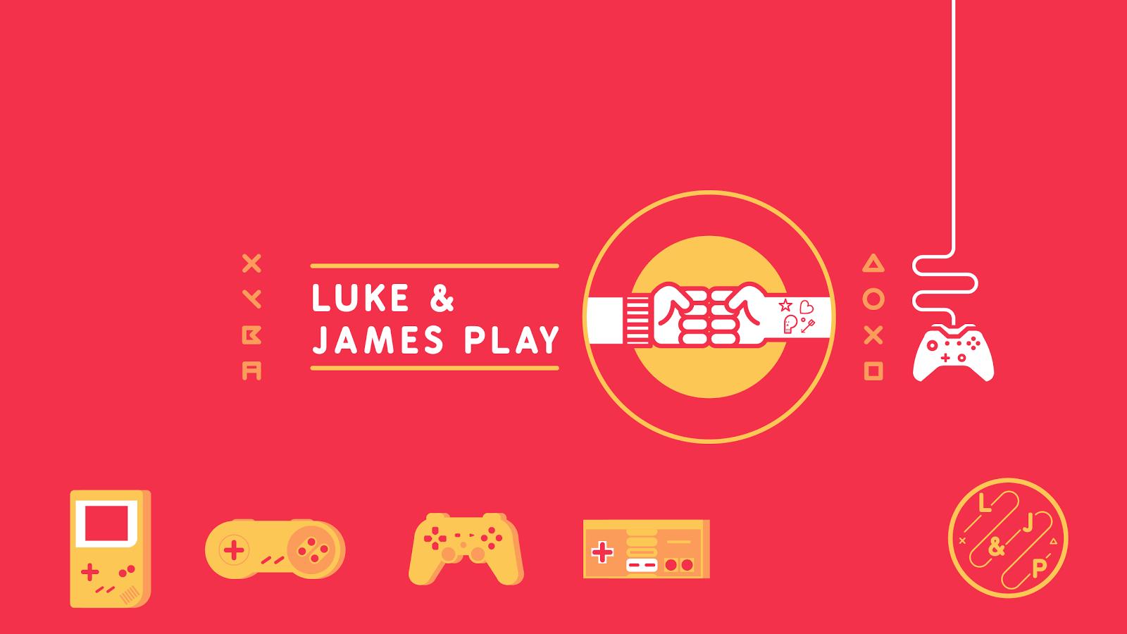 Luke and James Play