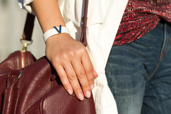 Personalized Leather Bracelet by IDENTIFY