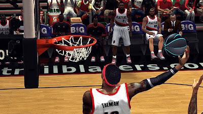 NBA 2K13 Customized Nike Ball Patch