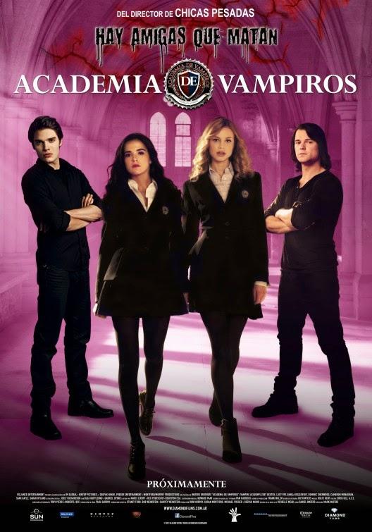 Academia de Vampiros: O Beijo das Sombras – Legendado (2014)
