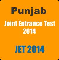 Punjab JET 2014