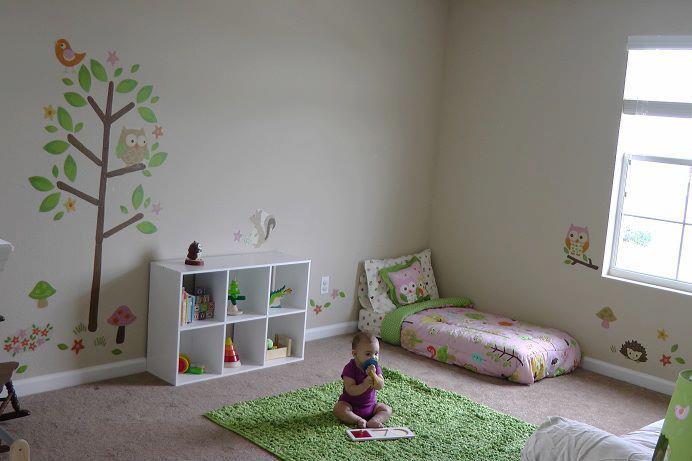 Monina estudio de dise o cuarto de ni os for Cuartos para ninas montessori
