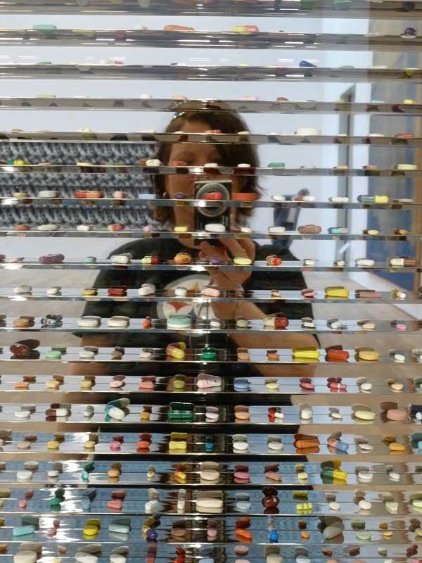 Self portrait at museum brandhorst munich