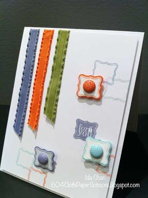 Sale-a-bration 2013 Pretty Petites card by Ida Chan