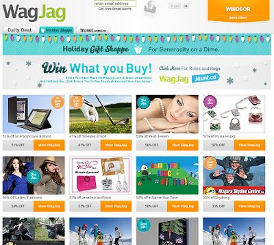 HolidayShoppe at WagJag