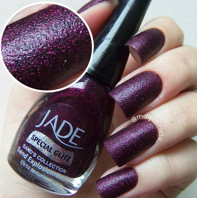 Esmalte Jade Sand Explosion Sand's Collection