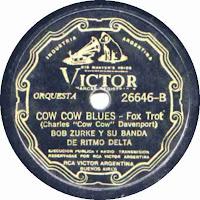 Cow Cow Blues -Bob Zurke y su Banda de Ritmo Delta