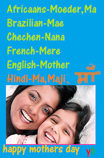 name of mothers in different languages