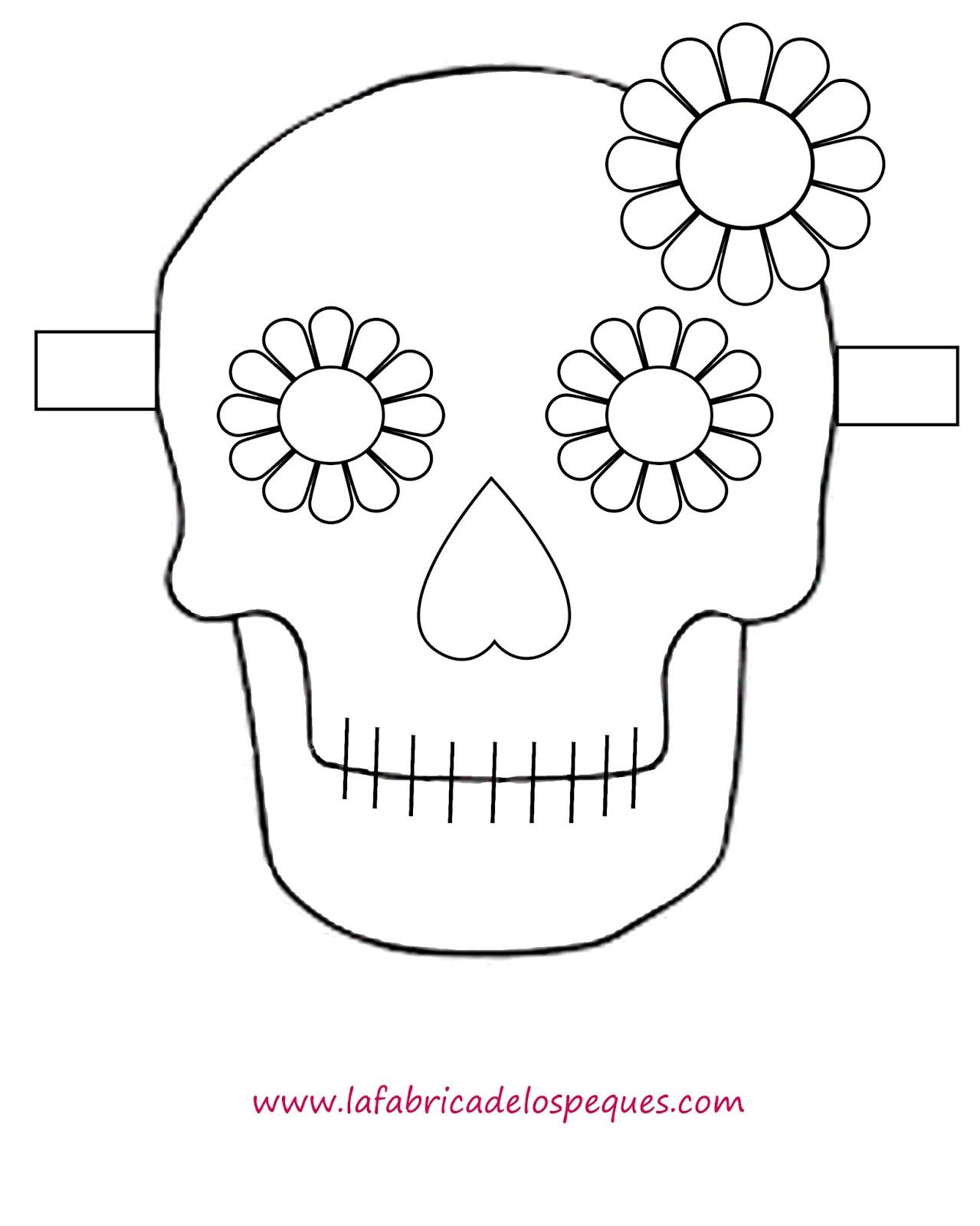 Plantillas e imprimibles gratis para Halloween: calaveras, calabazas ...
