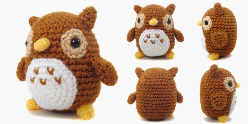 Bloglovin Amigurumi : Free Pattern Friday: Mini Owl Amigurumi i crochet things ...