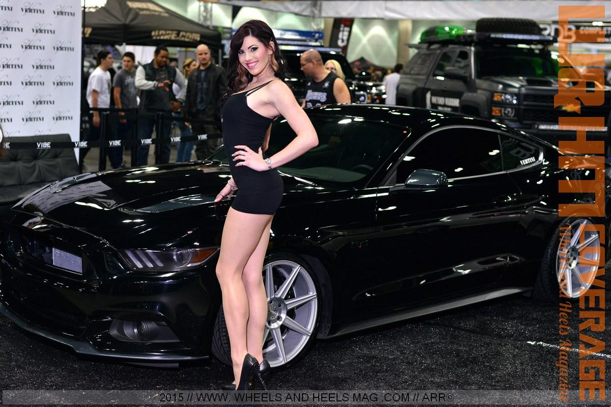 wheels and heels magazine w amp hm super leggy models at the busy dub show la 2015