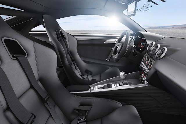 Audi TT Ultra Quattro Concept interior