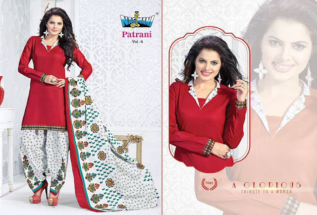 Patrani Vol-5 – Patiala Cotton Dress Material