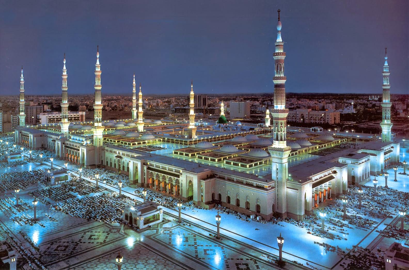 Gambar Puasa Ramadhan Masjid Nabawi Madinah Terbaru