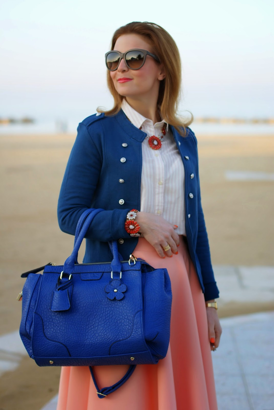 Sodini primavera estate 2014, Only Anette military blazer, Fashion and Cookies, fashion blogger