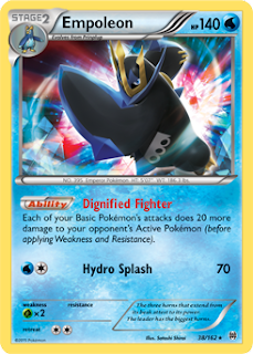 Empoleon BREAKthrough Pokemon Card