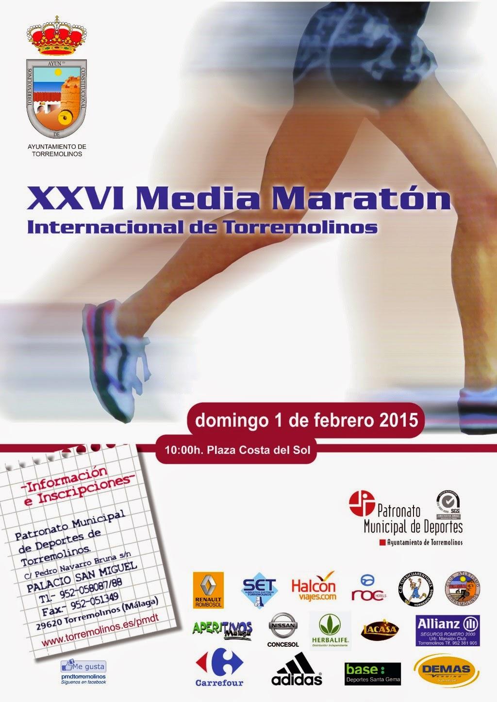 XXVI MEDIA MARATÓN DE TORREMOLINOS