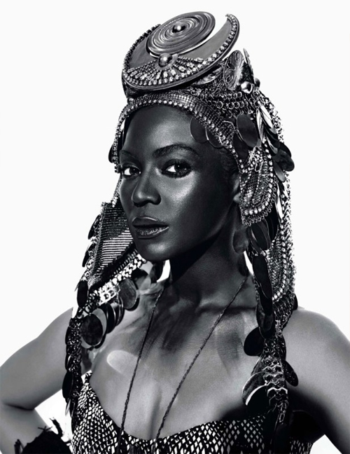 How does beyonce represent black women in todays society?